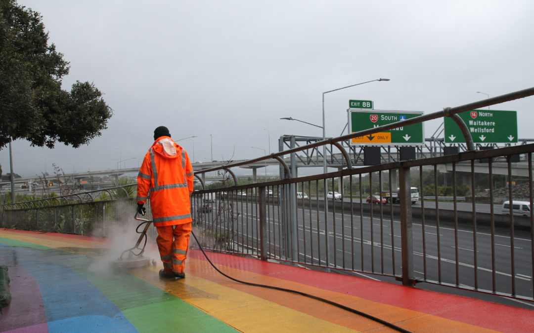 Civic Case Study: Cycleway & Residential Development Cleaning